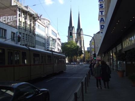 デュッセェル街角