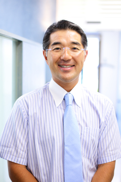 Clinical Director Dr. med. dent. Minoru Yoshie, specialist in dentistry and orthodontics